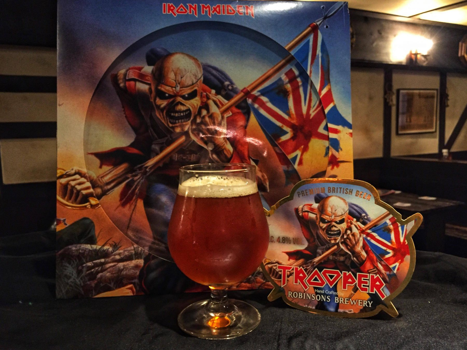 Iron Maiden Trooper Ale Aldgate Shibuya