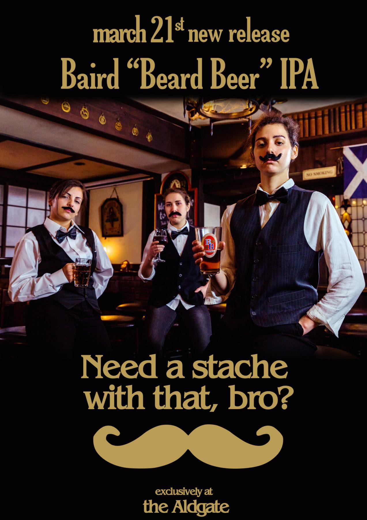 baird beard beer ipa for the aldgate