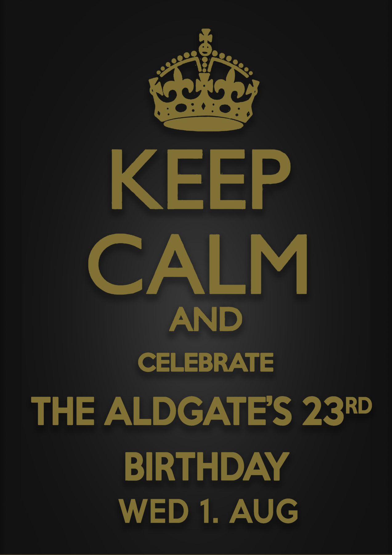 aldgate 23rd anniversary party