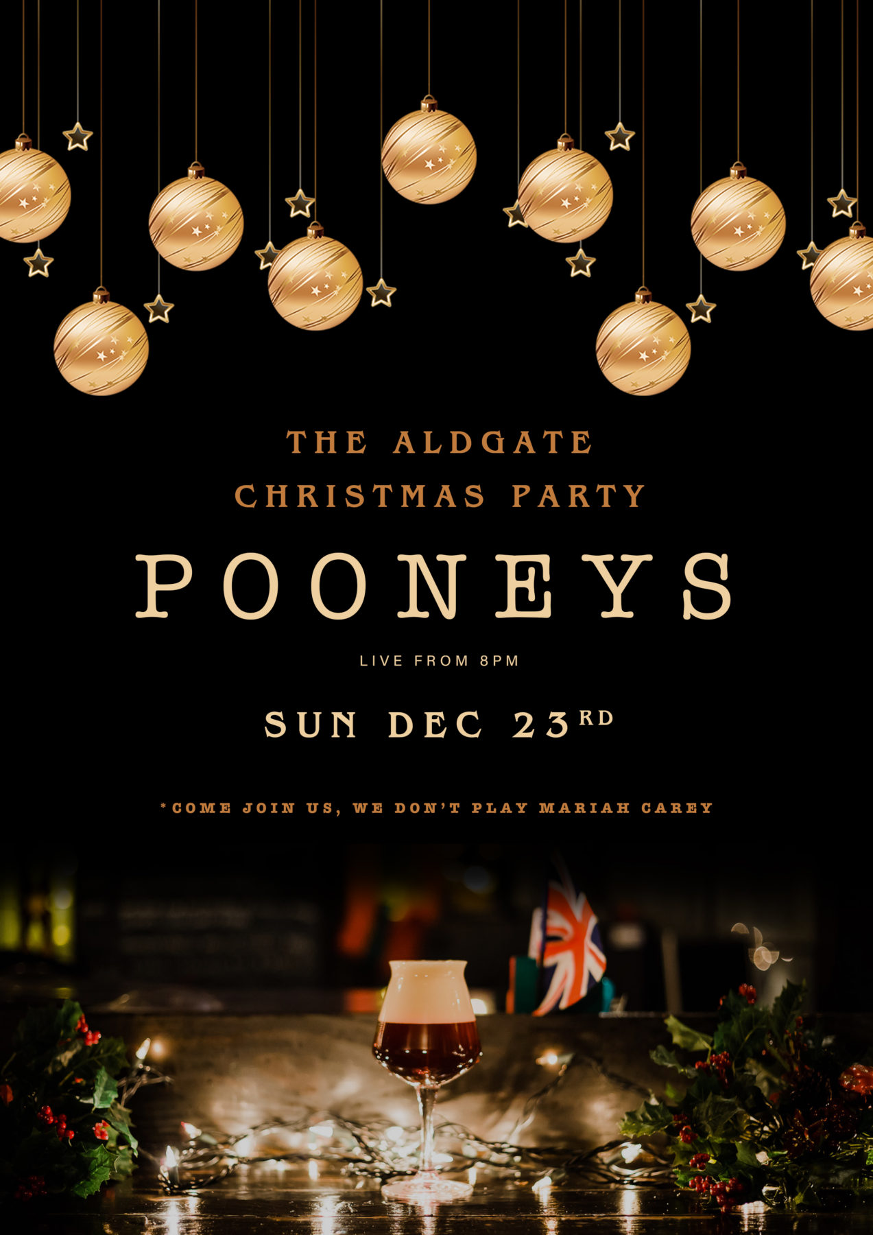 The Aldgate Christmas Party