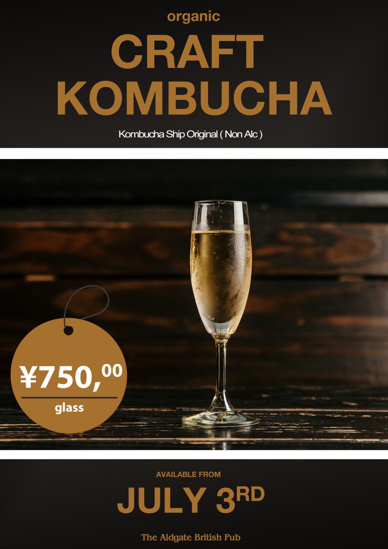 tokyo organic kombucha